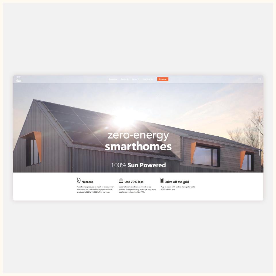 Zero Energy Smarthomes